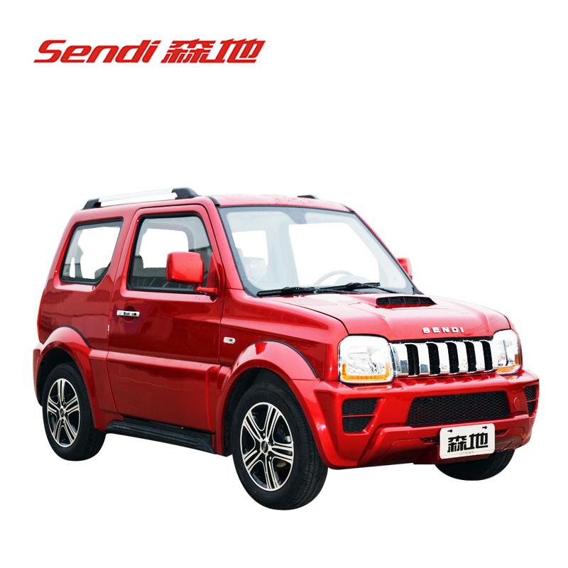 森地 领航 新能源汽车(全封闭) 四轮电动车(72v100a/150a 4kw) 红色
